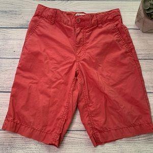 Other - Old Navy pink boys Bermuda khaki shorts size 8
